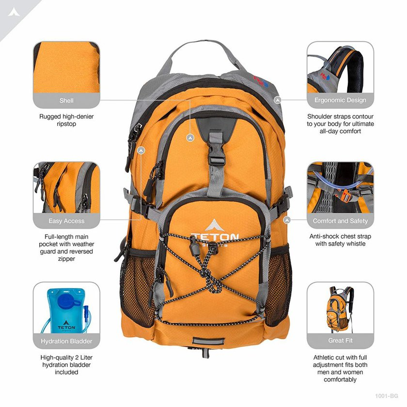 Teton sports oasis 1100 backpack - photo 2