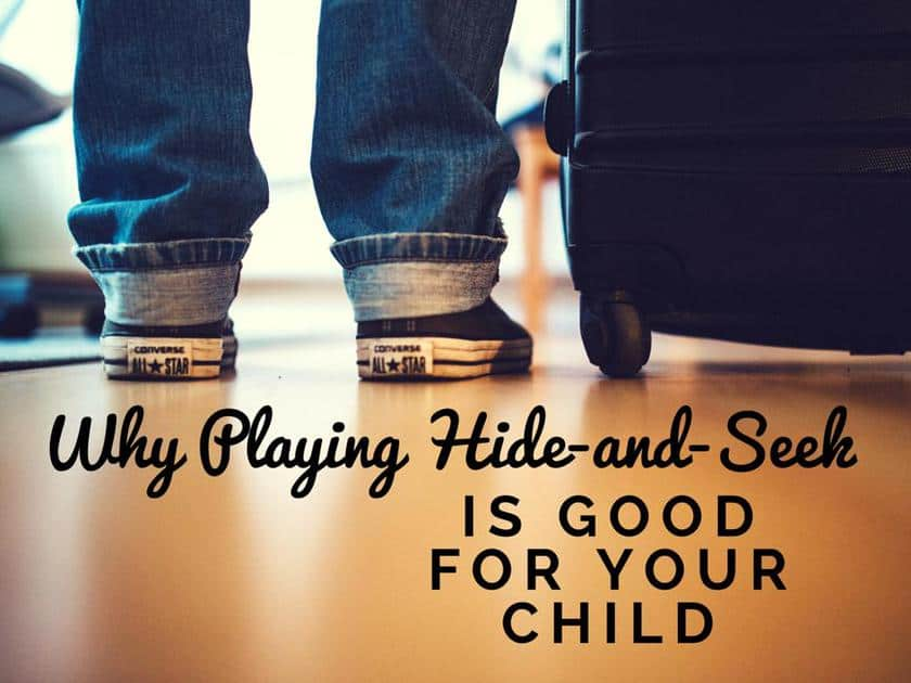 Why Playing Hide-and-Seek