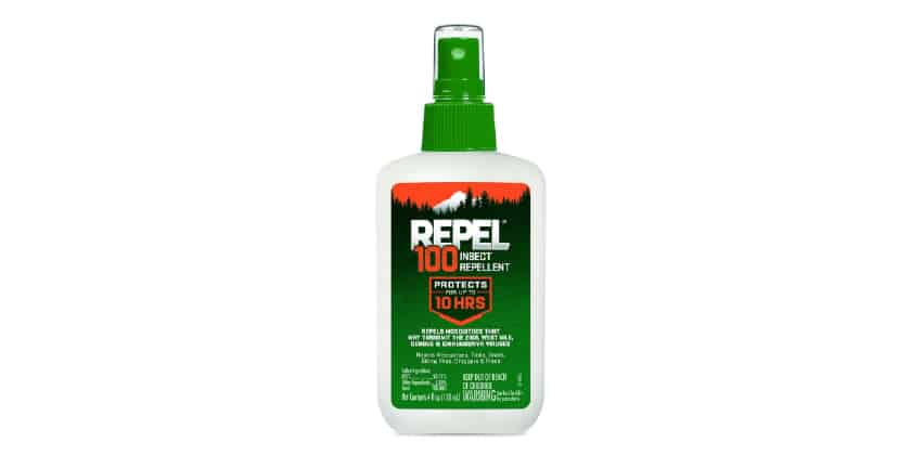 repel 100 DEET review