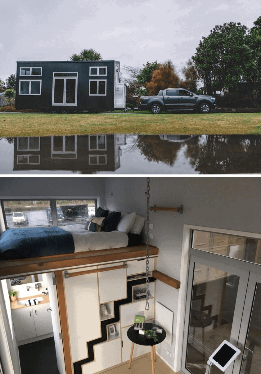 Millenial Tiny House on wheels design ideas