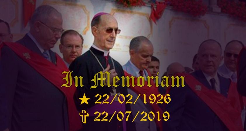 Monseigneur Rodolfo Laise - Fidèle à son prédécesseur dans l'Ordre des Frères mineurs capucins de saint François, le saint Padre Pio, Monseigneur Laise...