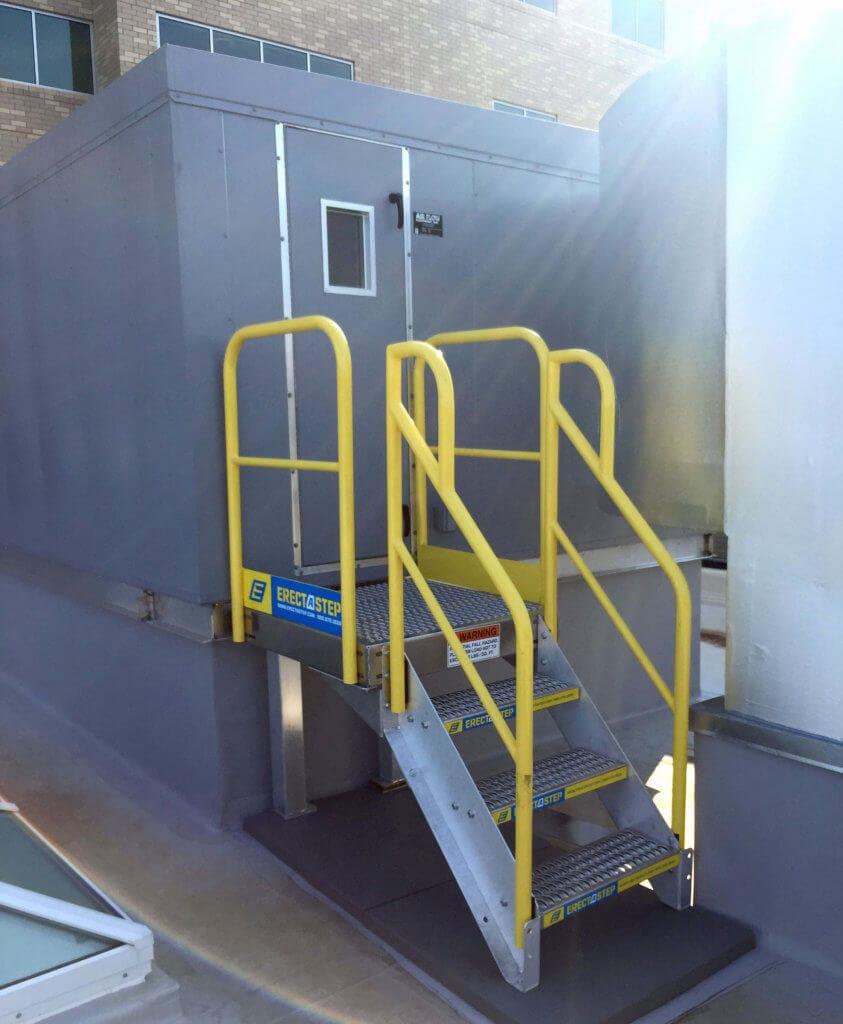 Metal Stair Installation