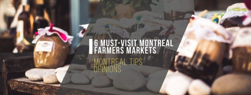 Farmer Market with fresh produce in montreal