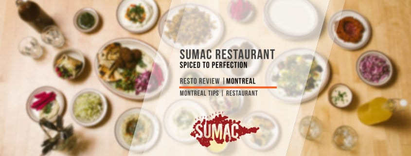 Montreal Tips Feature on SUMAC