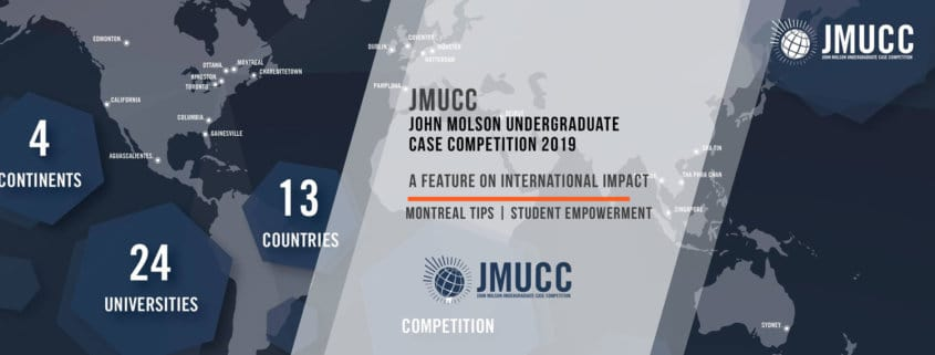 JMUCC - Concordia's John Molson School of Business hosts an annual competition