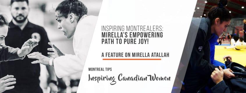 Inspiring Montrealers: Mirella's empowering path to pure joy!