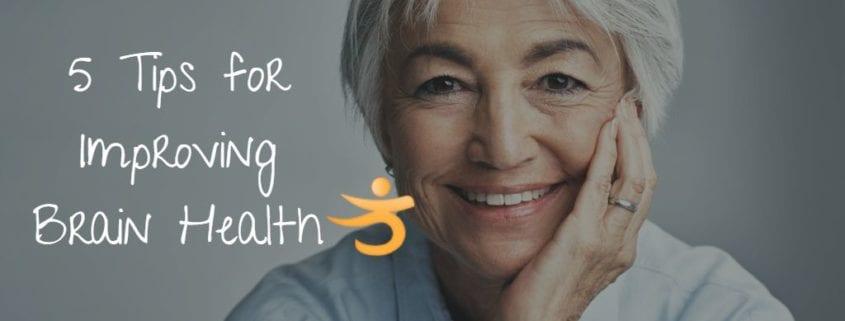 5 tips for improving brain health