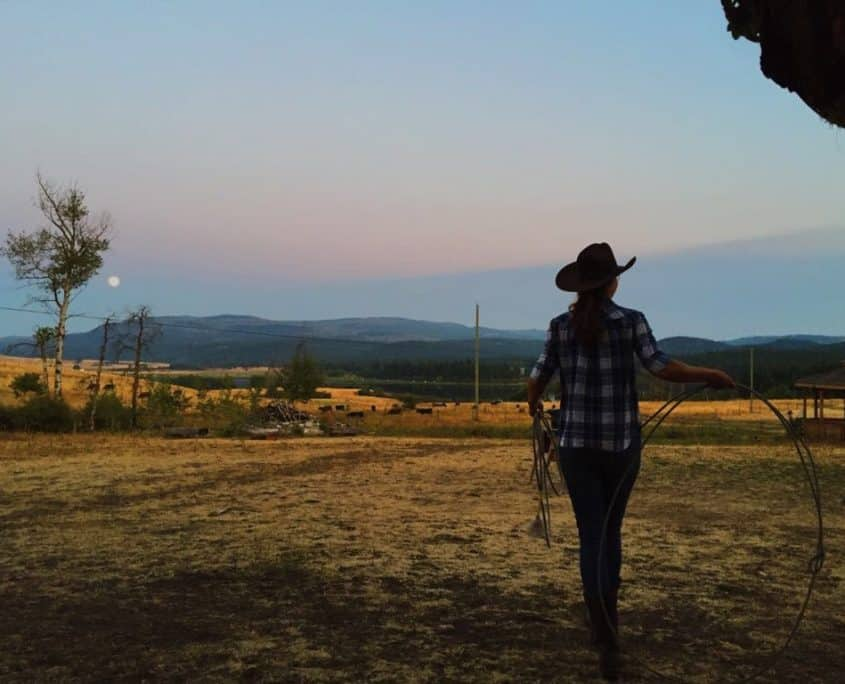 Lasso Lessons at Guest Ranch