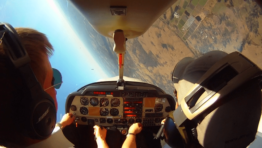Learn to fly aerobatics