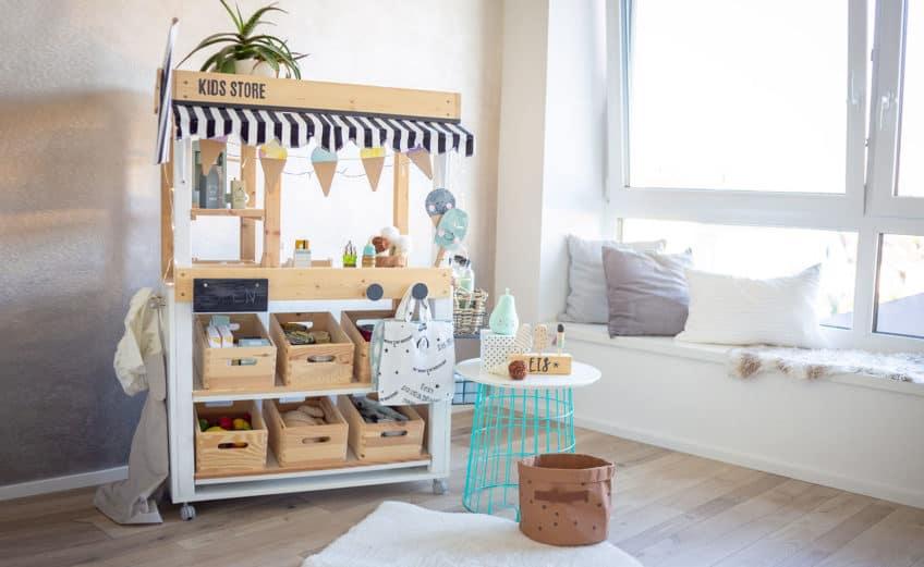 Pimp deinen Kaufladen in einen DIY Eisstand
