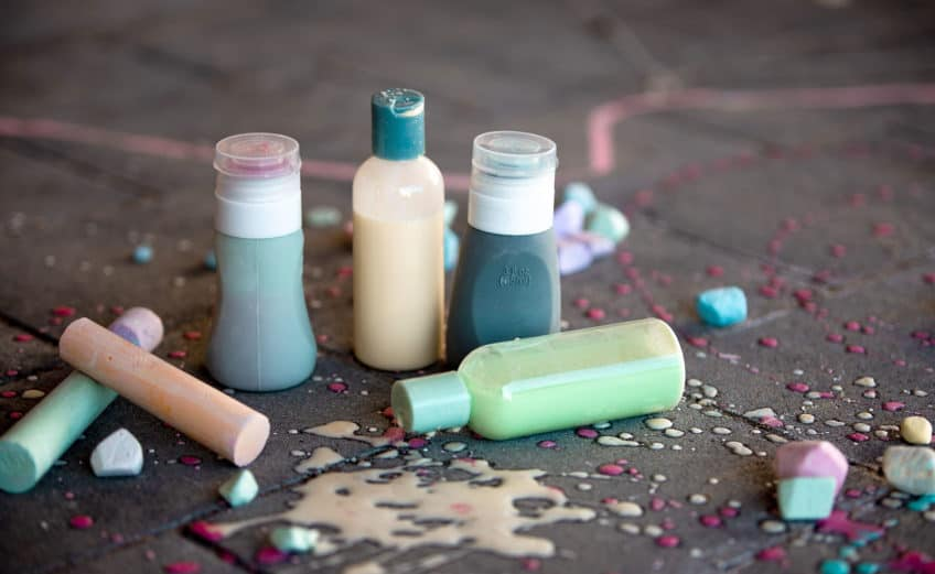 DIY flüssige Kreide für Kinder