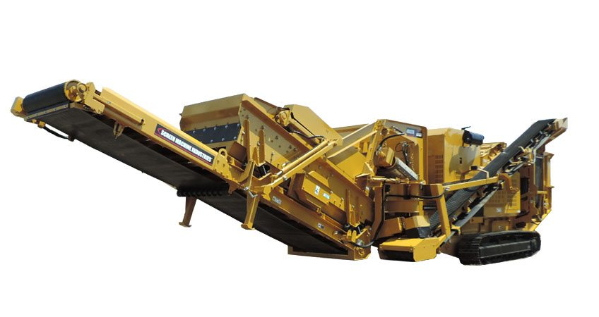 4043TR Recirculating Rock Crusher