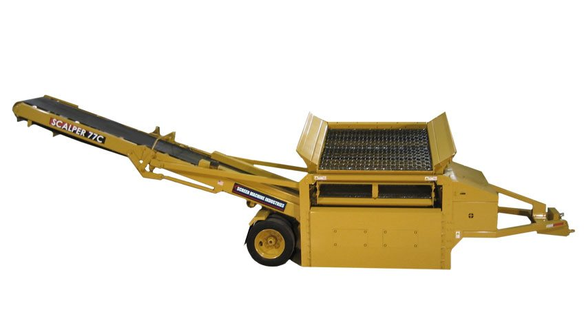 Scalper 77C Compost Screening Plant