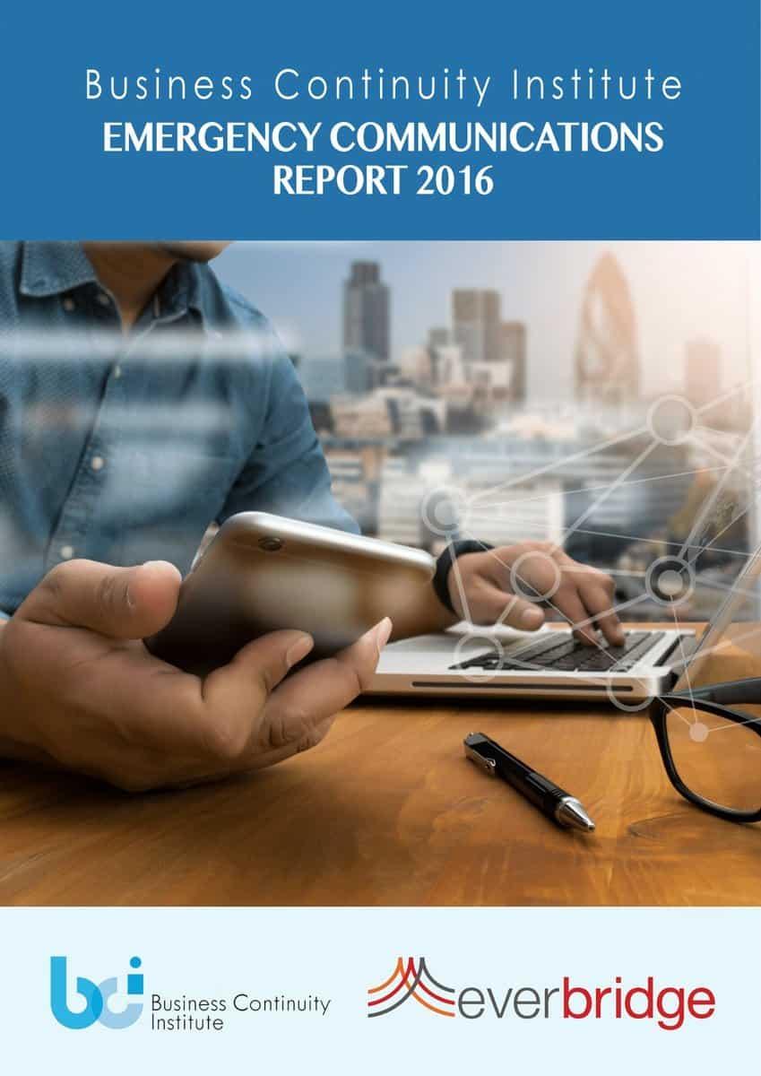 BCI emergency communications report 2016