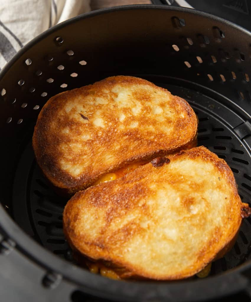 grilled cheese in the air fryer
