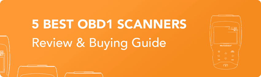 OBD1 scanner review and buying guide