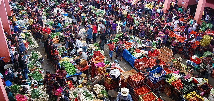 Mercado Chichicastenango