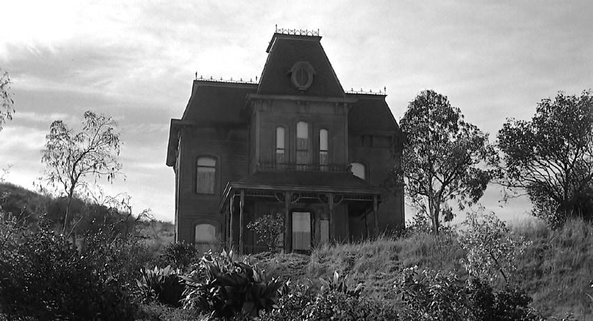 خانه نورمن بیتس و مادرش