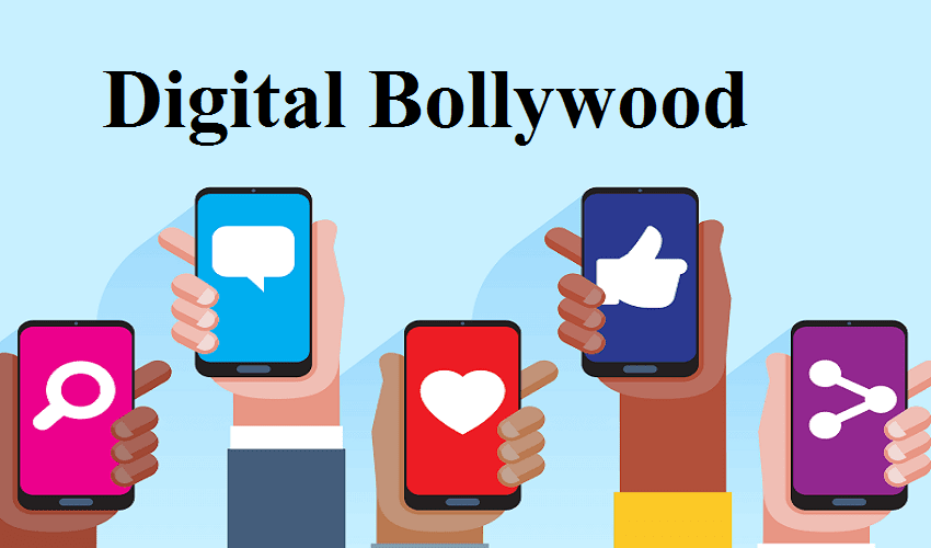 Digital World Celebs Hanging And Zooming around it