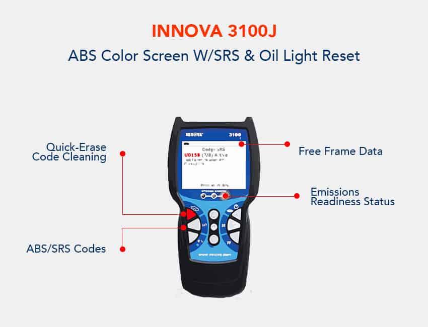 Innova 3100j OBD2 Diagnostic Tool
