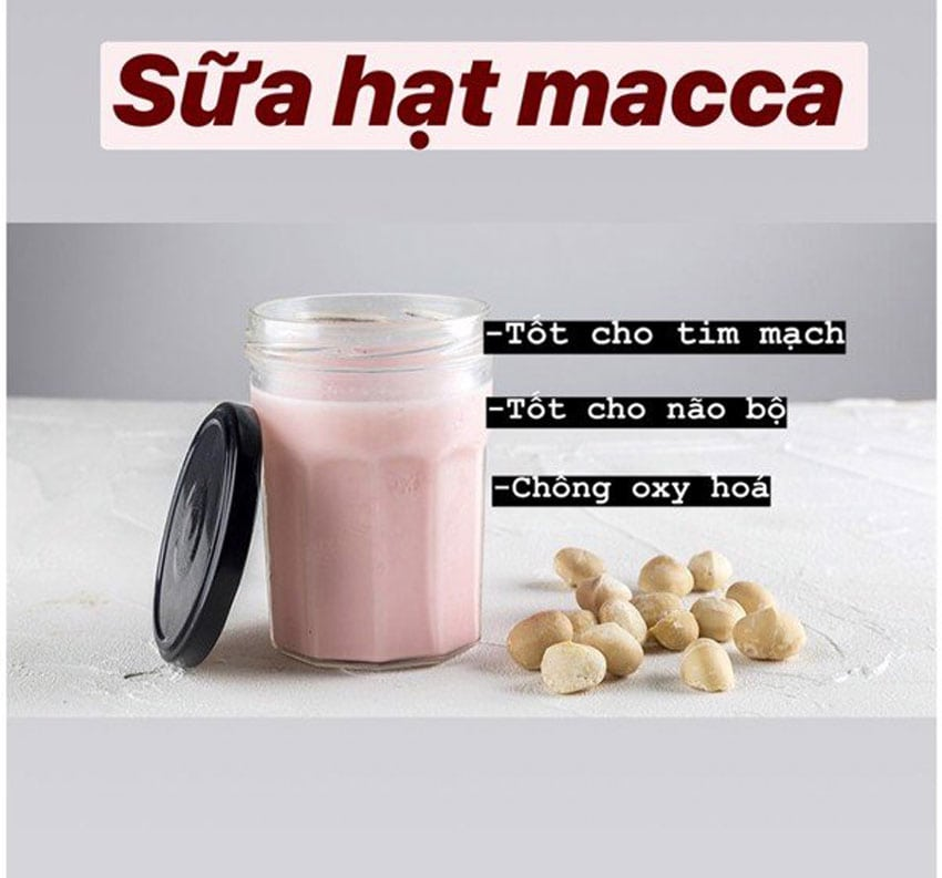 Sữa hạt, 7 công thức làm sữa hạt bằng máy làm sữa hạt, BÁO TIÊU DÙNG
