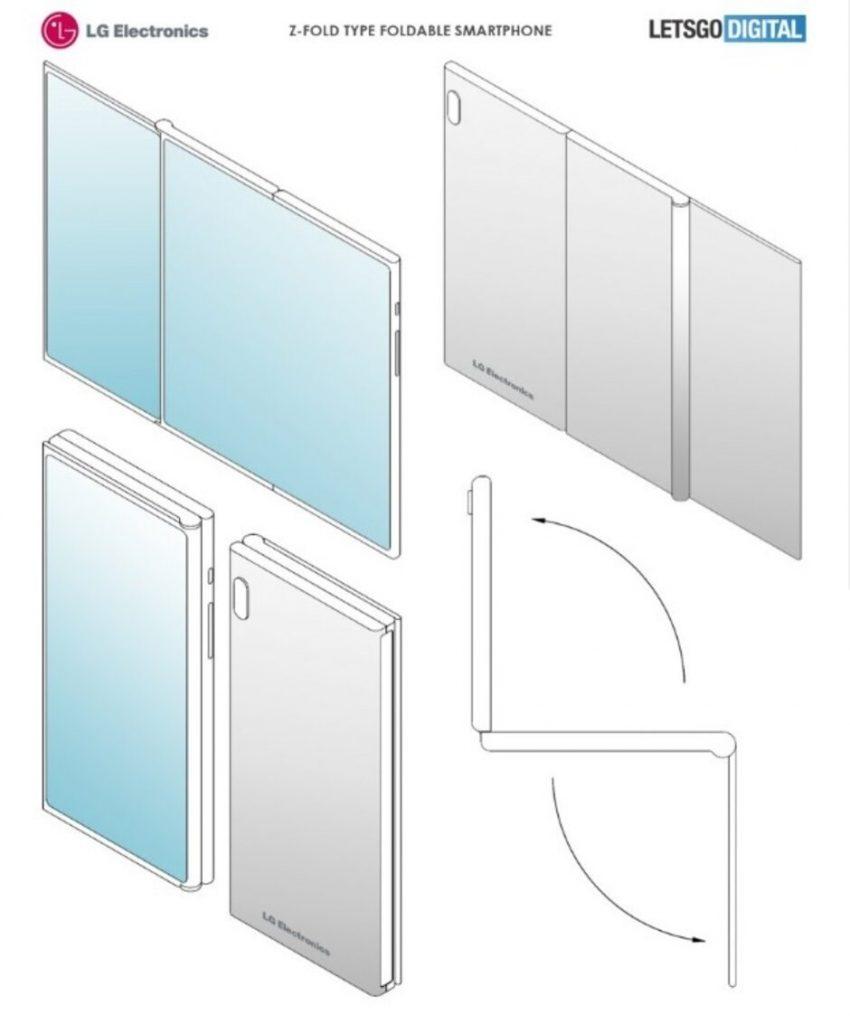 LG Foldable Phone Patent