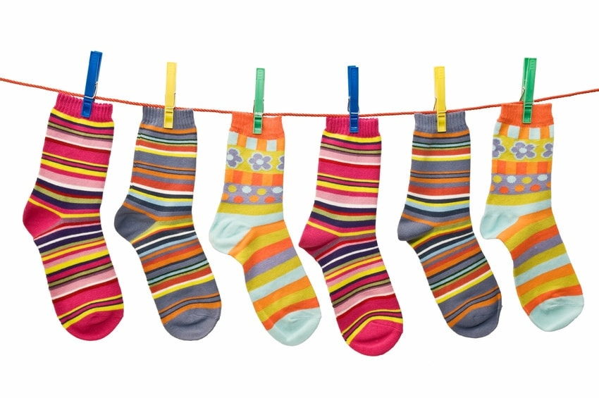 Some socks for happy toes for the homeless - The Joy of Sox