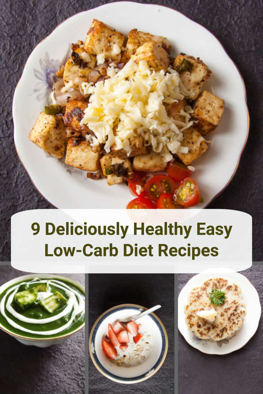 Healthy Easy Low Carb Diet Recipes