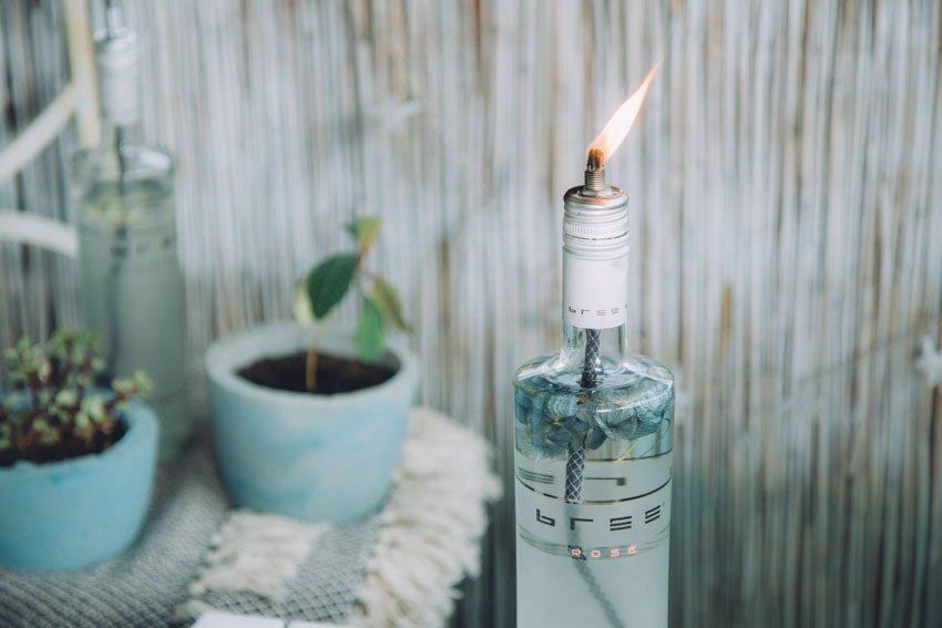 Öllampe selber machen mit Bree Wine