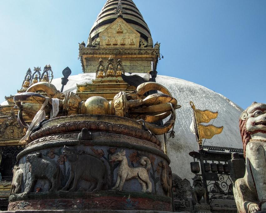Swayambhunath after the earthquake