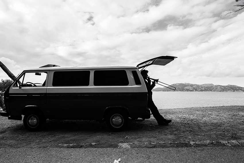 Fotógrafo de músicos Mallorca Inma del Valle