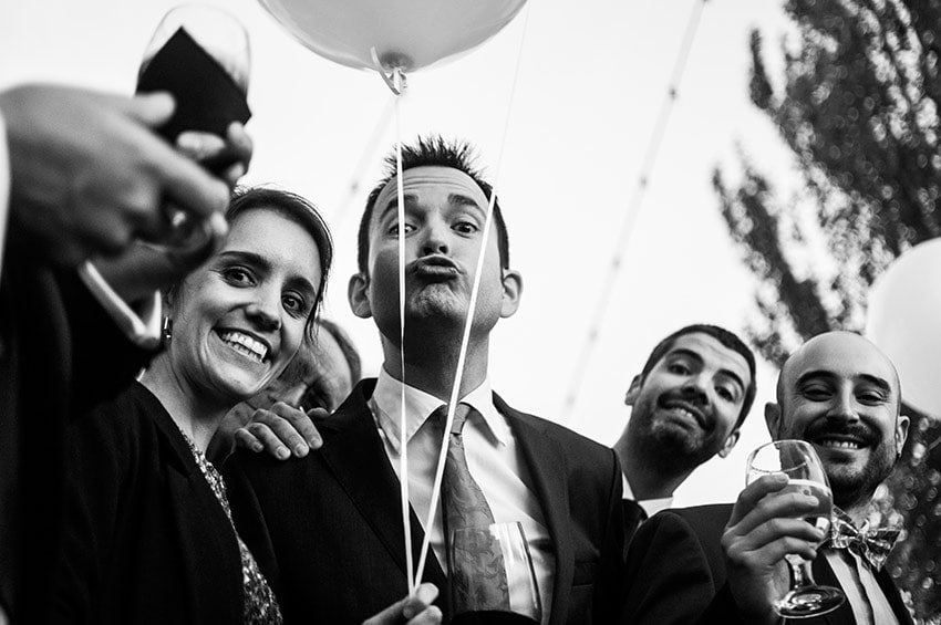 Fotógrafo bodas León divertidas