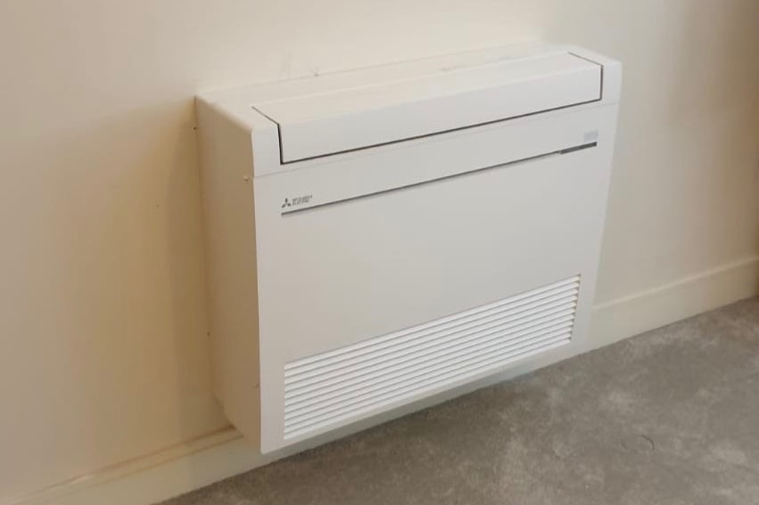 Mitsubishi Electric floor mounted air conditioning unit