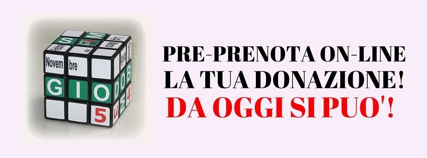 PRE-PRENOTA ON-LINE