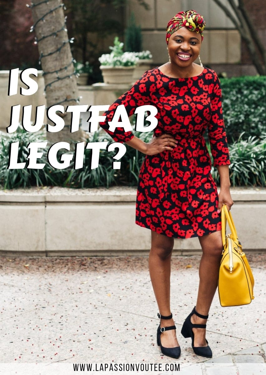 JustFab Reviews - Is it a Scam or Legit? A Must-Read JustFab Review of my experience shopping at Just Fabulous. Here's what you need to know. #justfab #shoppingonline #summerfashion