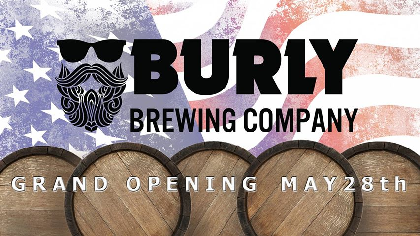 BURLY Brewing Company will open in Castle Rock, CO on Monday, May 28.