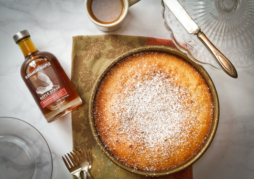 Maple butter cake by Runamok Maple