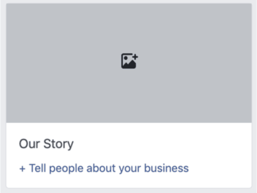 how to upload facebook's our story