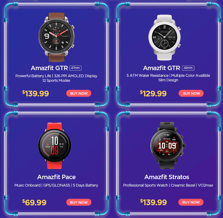 best xiaomi watch aliexpress