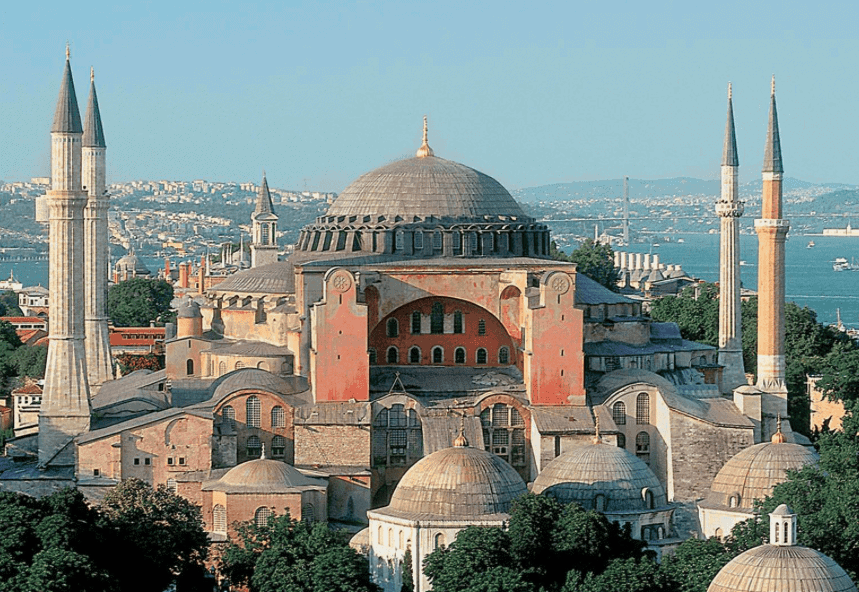 Image result for hagia sophia constantinople