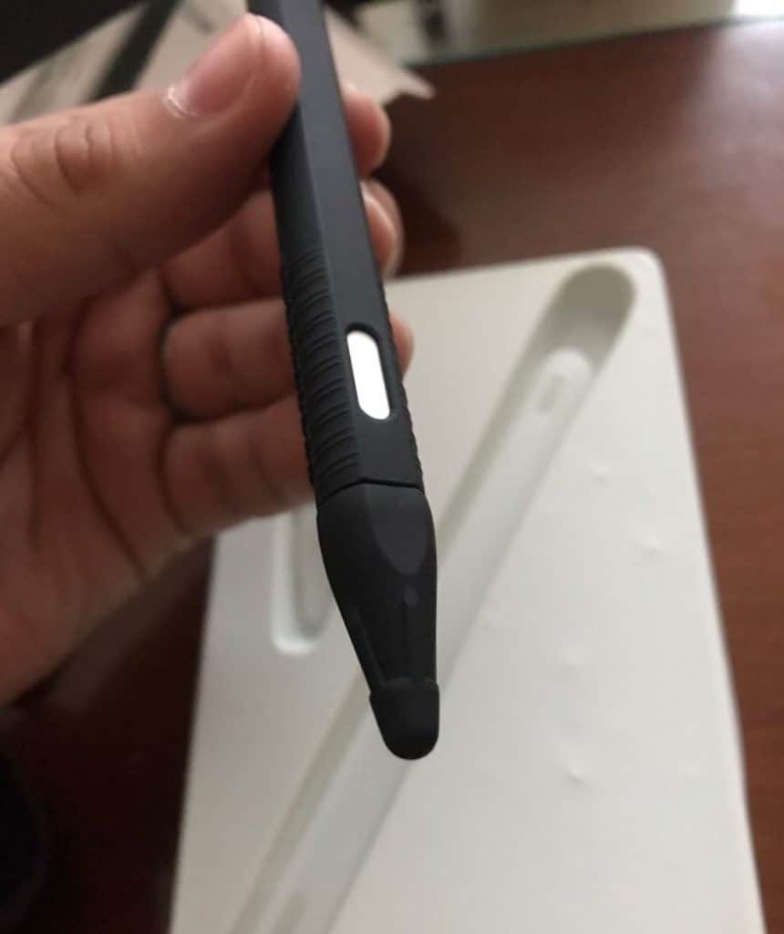 Fake Smart pen apple pencil replica Cheap alternative AliExpress Ipad pro Stylus Silicon Case 2