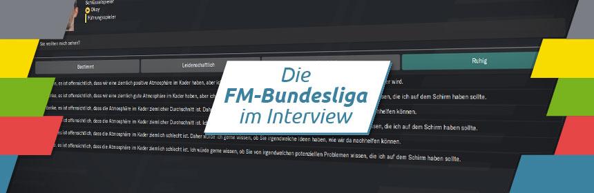 FM-Bundesliga Interview