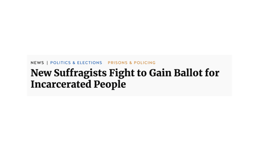 Truthout Coverage: Voting Rights