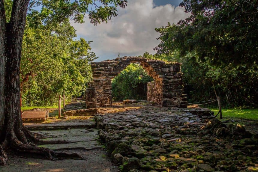 Cozumel Quintana Roo: lugares para visitar - Las ruinas mayas de San Gervasio