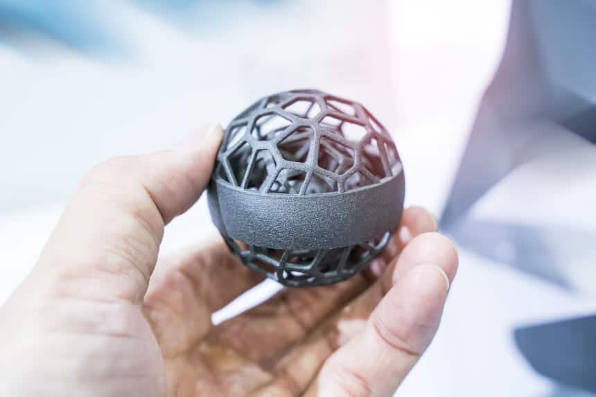 3D Druck Metall für bionische Strukturen