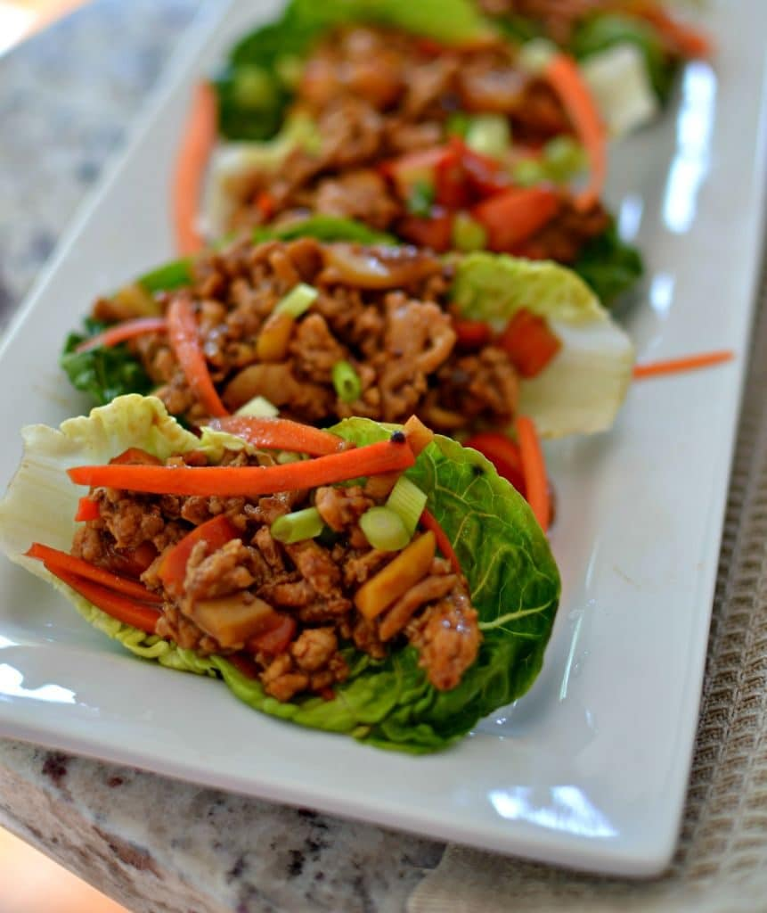 Flavor Packed Lettuce Wraps