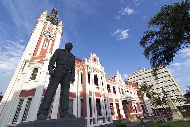 Steve Biko statue by Bfluff - Wikimedia Commons licensed under the Creative Commons Attribution-Share Alike 3.0 Unported license.