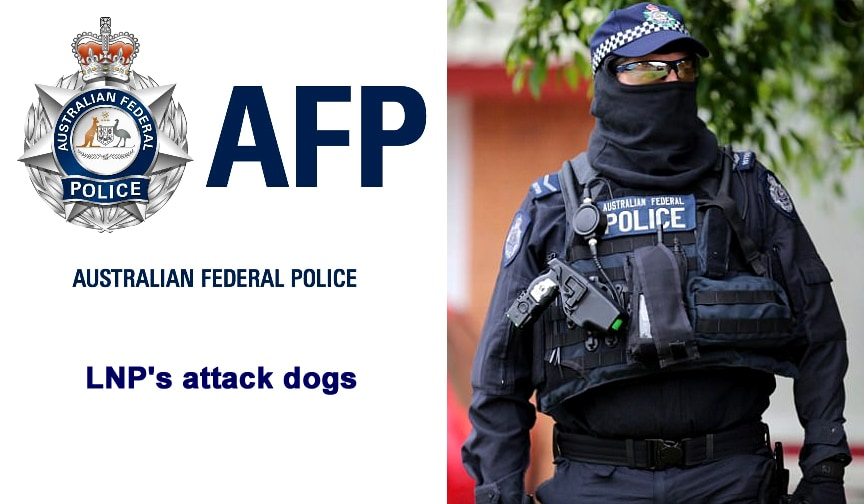 Angus Taylor and the hopelessly compromised AFP