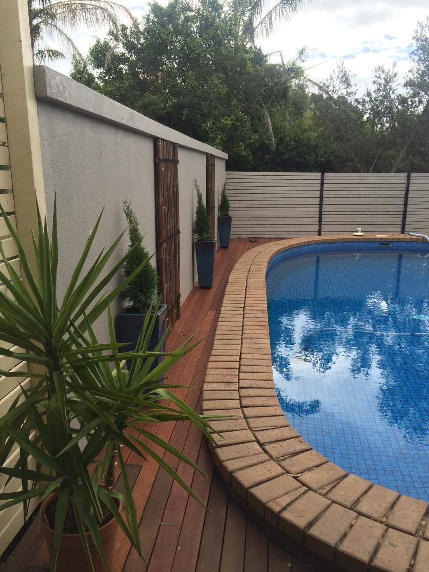 Goolwa Pool Privacy Fence SIPs