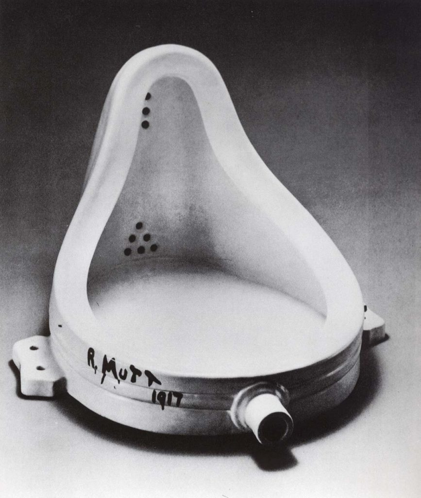 Marcel Duchamp, Fountain, replica
